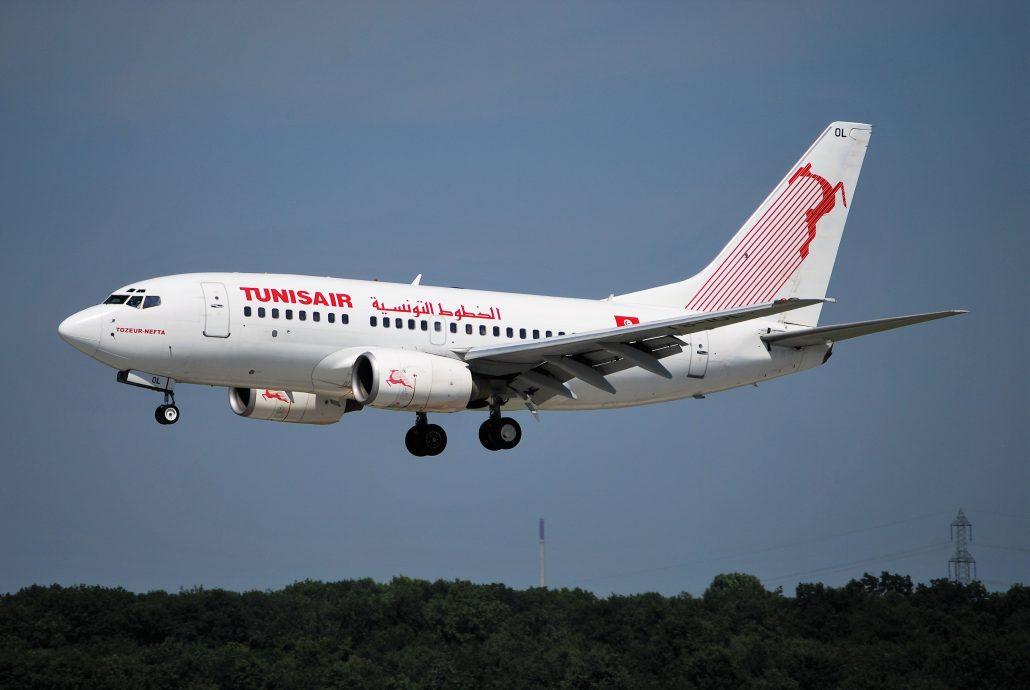 Tunisair Boeing 737_Tozeur Nefta