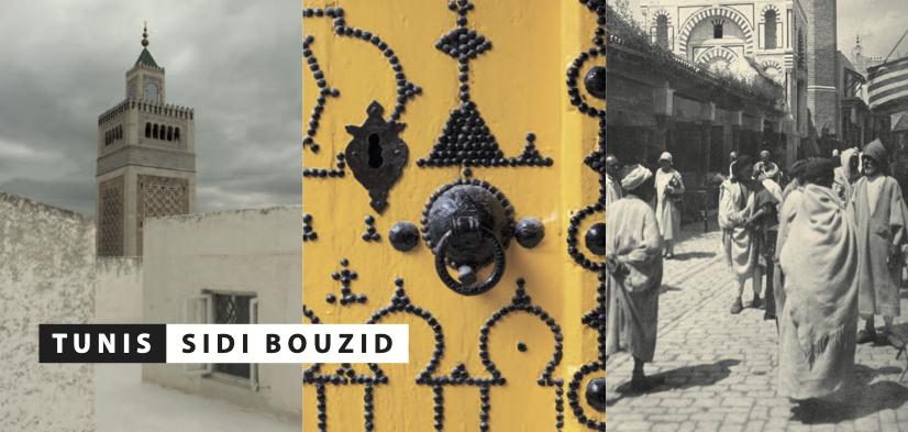 Karte: Tunis – Sidi Bouzid