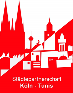 Logo Städtepartnerschaft Köln Tunist