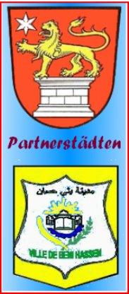 Logo Städtepartnerschaft Ben Hassen Schöningen